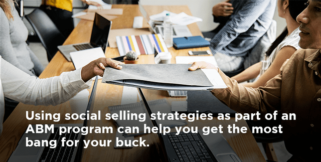 Why You Should Integrate Social Selling as Part of an ABM Program